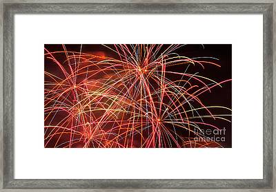 Fireworks - Royal Australian Navy Centenary 3 Framed Print