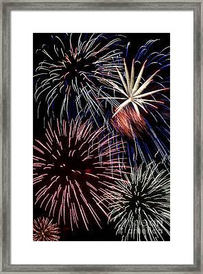 Fireworks Spectacular Framed Print by Jim and Emily Bush