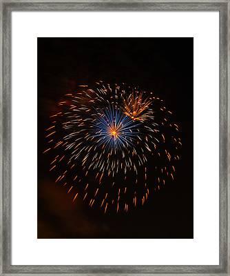 Fireworks1 Framed Print by Chris Flees