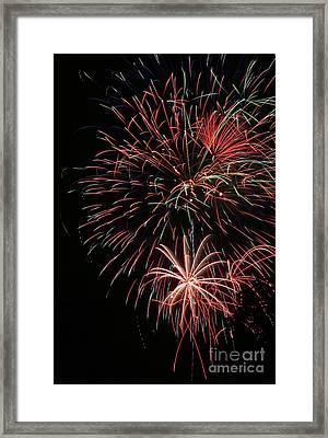 Fireworks6525 Framed Print by Gary Gingrich Galleries