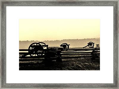 Firing Line Framed Print