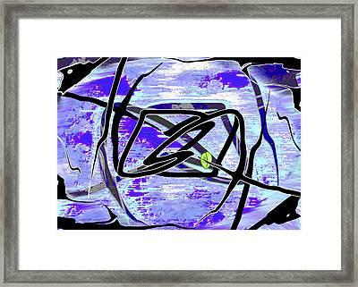 Firmament Cracked #4 - Entrapment Framed Print