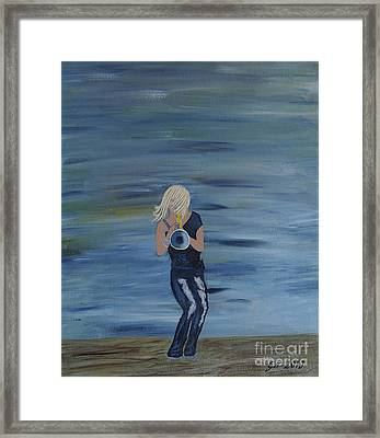 Firmly Grounded - Cindy Bradley Framed Print