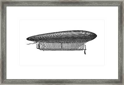 First Air Ship Framed Print by Bildagentur-online/th Foto