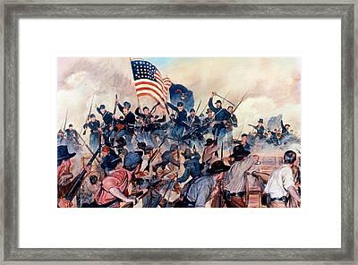 First At Vicksburg Framed Print by Mountain Dreams