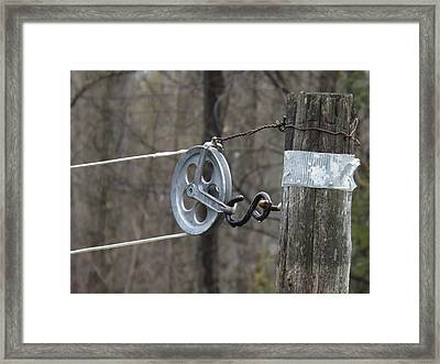 First Automatic Dryer Framed Print