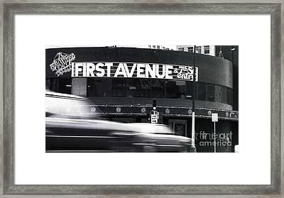 First Avenue Framed Print by Kip Krause