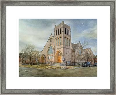 First Avenue Presbyterian Church  Framed Print by Juli Scalzi