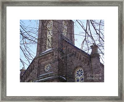First Baptist Church Framed Print
