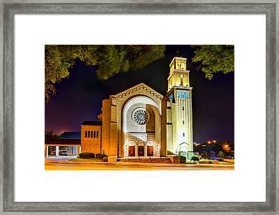 First Baptist Church Of Pensacola Framed Print