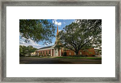 First Baptist Of Georgetown II Framed Print