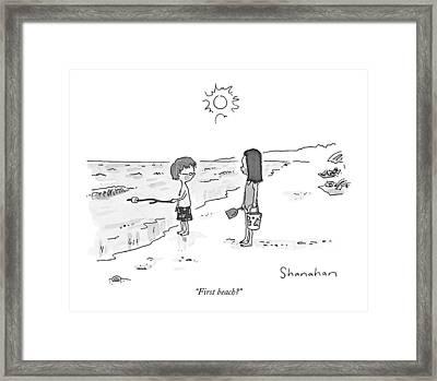 First Beach? Framed Print by Danny Shanahan