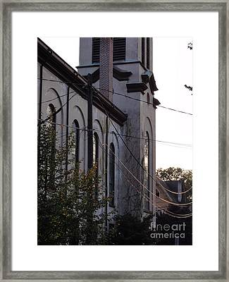 First Centenary Methodist Framed Print