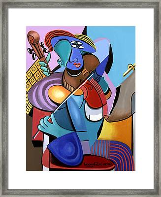 First Chair Framed Print by Anthony Falbo