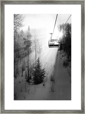First Chair Framed Print