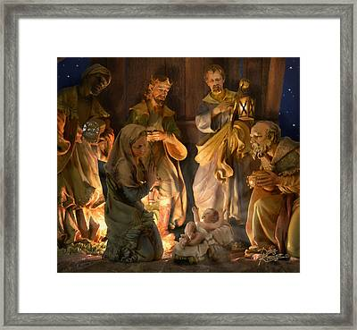First Christmas Framed Print by Doug Kreuger