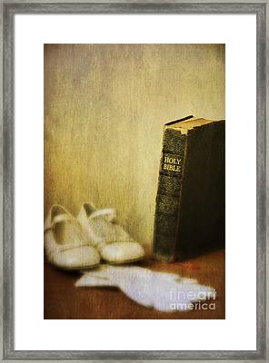 First Communion Framed Print by Birgit Tyrrell
