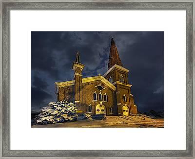 First Congregational Church Framed Print