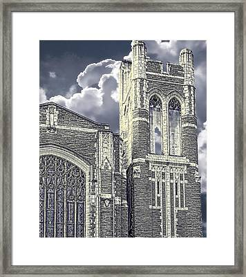 First Congregational Framed Print