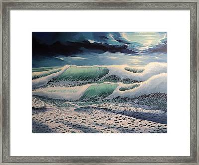 First Cut Framed Print by Alejandro Del Valle