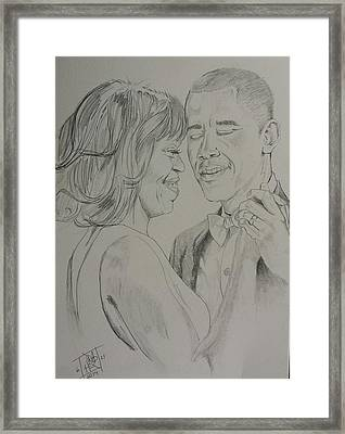 First Dance Framed Print by DMo Herr