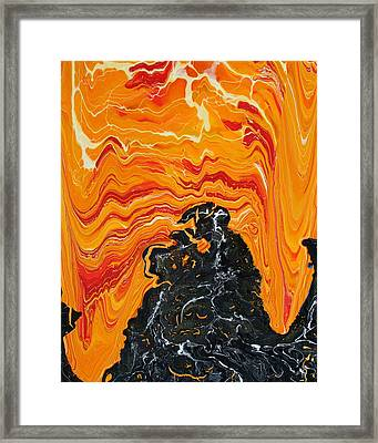 First Day In Hell Framed Print