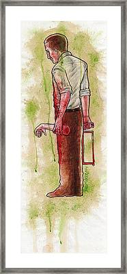First Dismemberment No 1 Framed Print