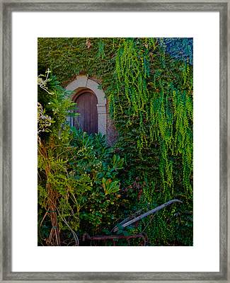 First Door On The Left Framed Print by Bill Gallagher