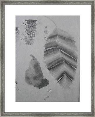 Framed Print featuring the drawing First Drawing Class by AJ Brown