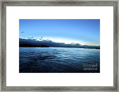 First Ferry Home Framed Print