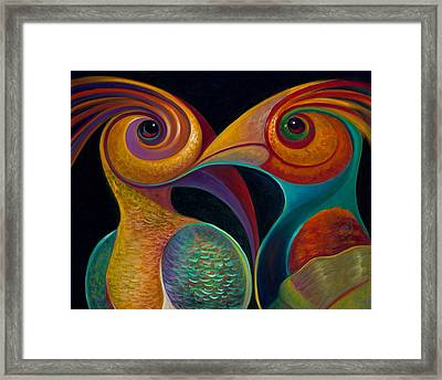 First Flight 1 Framed Print by Claudia Goodell