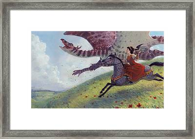 First Flight Framed Print by Jaimie Whitbread