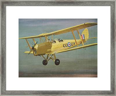 First  Flight Framed Print by James Lawler