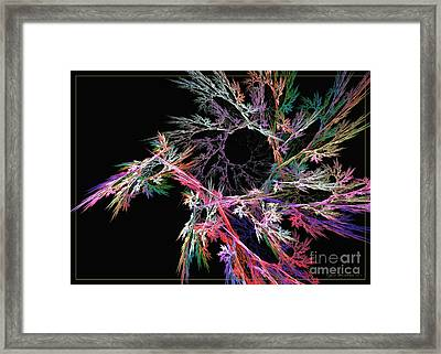 First Flower Framed Print by Sipo Liimatainen