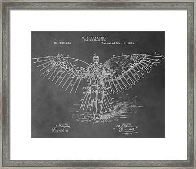 First Flying Machine Framed Print by Dan Sproul