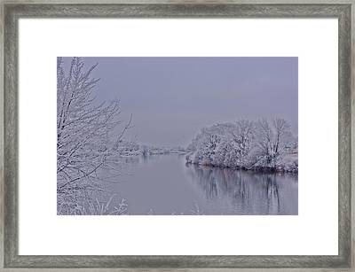 Framed Print featuring the photograph First Frost by Lynn Hopwood