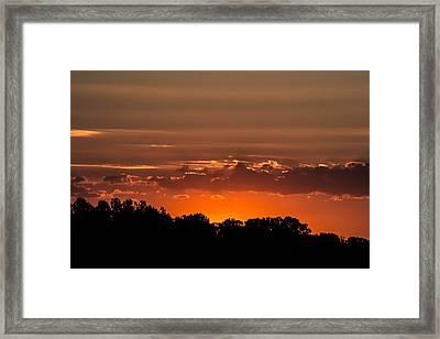 First Impression Framed Print