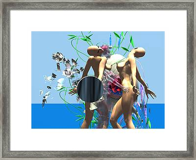First Kiss 300 D Framed Print by Stephen Donoho