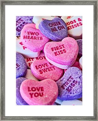 Framed Print featuring the photograph Valentines Day by Vizual Studio