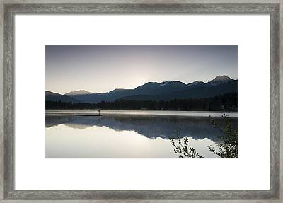 First Light Framed Print by Aaron Bedell