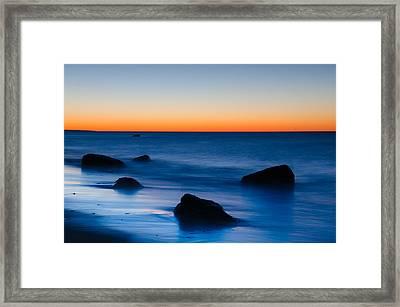First Light At Lucy Vincent Beach Framed Print