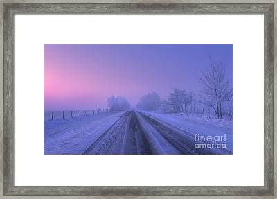 First Light Framed Print by Dan Jurak