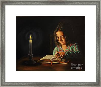 First Light Framed Print by Glenn Beasley