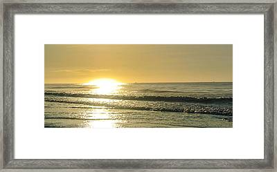 First Light Framed Print by Jason Heckman