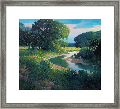First Light Framed Print by Kevin Lawrence Leveque