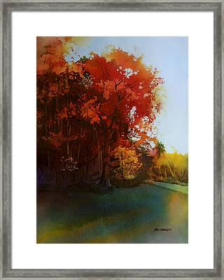 First Light Framed Print by Kris Parins