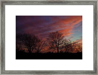 First Light Framed Print by Mark Alder