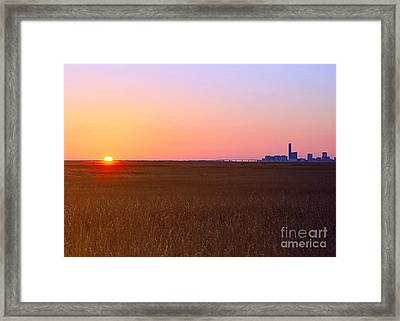 First Light Of 2015 Framed Print
