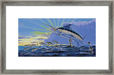 First Light Off00101 Framed Print by Carey Chen