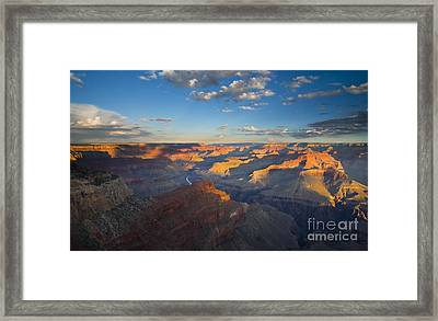 First Light On The Colorado Framed Print